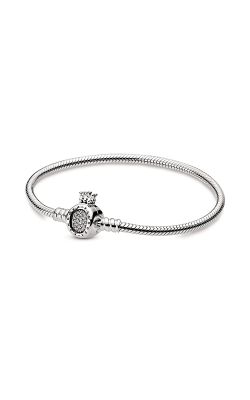 Pandora Moments Crown O & Snake Chain Bracelet 598286CZ-16 product image