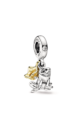 Pandora Disney Princess Tiana Frog Prince Dangle Charm 768235CZ product image