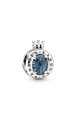 Pandora Blue Sparkling Crown O Charm 798266NMB product image