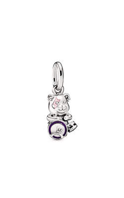 Pandora Theodore Bear Punk Band Dangle Charm 798281ENMX product image