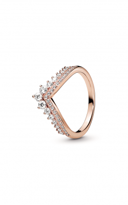 Pandora Rose™ Princess Wishbone Ring 187736CZ-50 product image