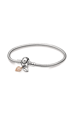 Pandora Moments Leaves & Snake Chain Bracelet 588333CZ-18 product image