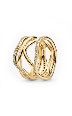 Pandora Shine™ Swirling Lines Ring 168272CZ-52 product image