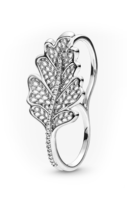 Pandora Oak Leaf Double Ring 198347CZ-48 product image
