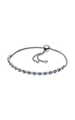 Pandora Sparkle Slider Bracelet, Blue Crystal & Clear CZ 598517C01-1 product image