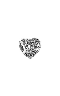 Pandora Openwork Heart & Beaded Stars Charm 798462C00 product image