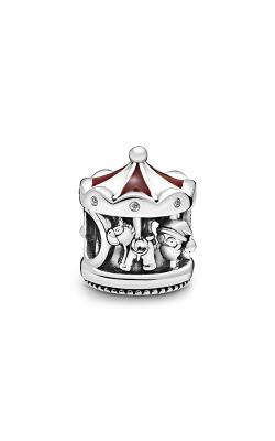 Pandora Christmas Carousel, Mixed Enamel & Clear CZ Charm 798435C01 product image