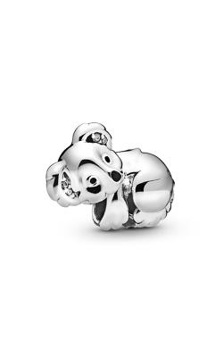 Pandora Koala, Black Enamel & Clear CZ Charm 798431C01 product image