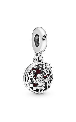 Pandora Santa Love Peace Joy, Burgundy Enamel Dangle Charm 798468C01 product image