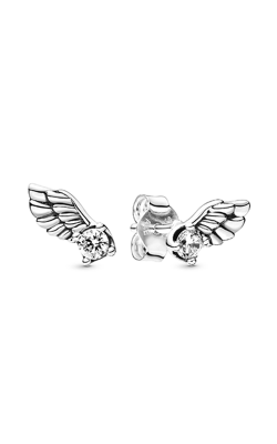 Pandora Sparkling Angel Wing, Clear CZ Earrings 298501C01 product image