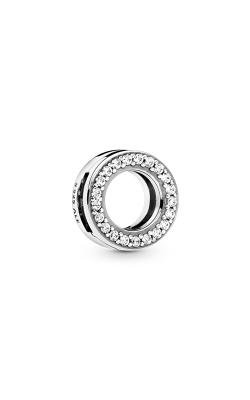 Pandora Circle Of Pavé, Clear CZ Clip Charm 798600C01 product image