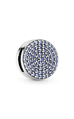 Pandora Pavé Snowflake, Blue Crystal Clip Charm 797583C01 product image