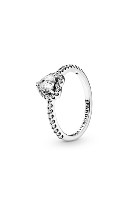 Pandora Elevated Heart, Clear CZ Fashion Ring 198421C01-48 product image