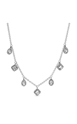 PANDORA Geometric Shapes Necklace 398495C01-45 product image