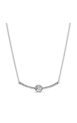 PANDORA Round Sparkle Necklace 398490C01-45 product image