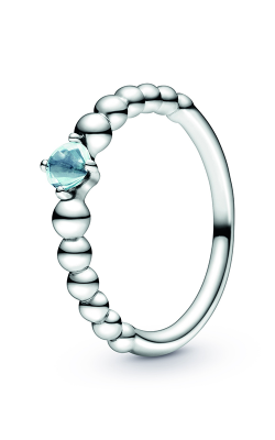 Pandora Aqua Blue Beaded Ring 198598C01-50 (Retired) product image