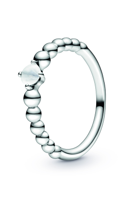 Pandora Milky White Beaded Ring 198598C04-50 product image