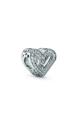 Pandora Sparkling Freehand Heart Charm 798692C01 product image
