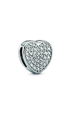 Pandora Pavé Heart Clip Charm 798684C01 product image