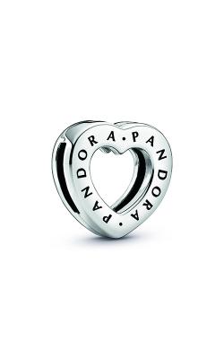 Pandora Logo Heart Clip Charm 798741C00 product image