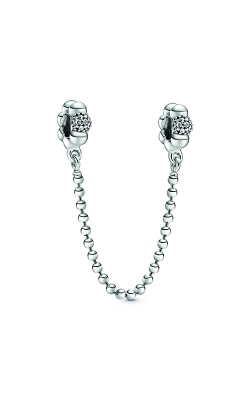 Pandora Beads & Pavé Safety Chain Charm 798680C01 product image