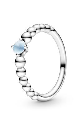 Pandora Sky Blue Beaded Ring 198598C07-52 product image