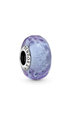 Pandora Wavy Lavender Murano Glass Charm 798875C00 product image