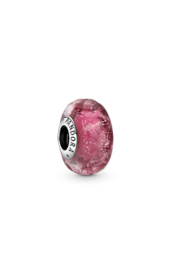Pandora Wavy Fancy Pink Murano Glass Charm 798872C00 product image
