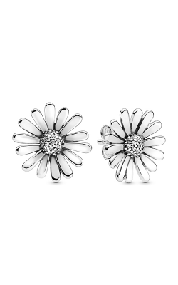 Pandora Pavé Daisy Flower Statement Stud Earrings 298812C01 product image