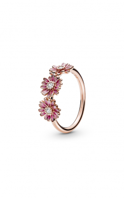 Pandora Rose™ Pink Daisy Flower Trio Ring 188792C01-48 product image