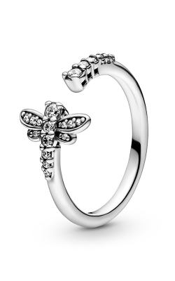 Pandora Sparkling Dragonfly Open Ring 198806C01-48 product image