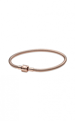 Pandora Rose™ Moments Barrel Clasp Snake Chain Bracelet 588781C00-17 product image