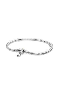 Pandora Moments Daisy Flower Clasp Snake Chain Bracelet 598776C01-17 product image