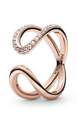 Pandora Rose™ Wrapped Open Infinity Ring 188882C01-52 product image
