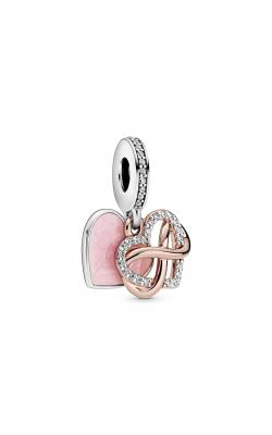 Pandora Rose™ Sparkling Infinity Heart Dangle Charm 788878C01 product image