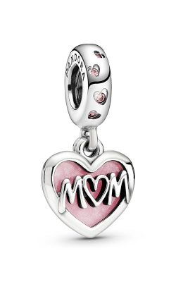 Pandora Mom Script Heart Dangle Charm 798887C01 product image