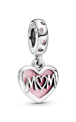 Pandora Mom Script Heart Dangle Charm 798887C01 product image