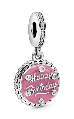 Pandora Pink Birthday Cake Dangle Charm 798888C01 product image