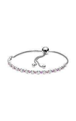 Pandora Pink & Clear Sparkle Slider Bracelet 598517C02-2 product image