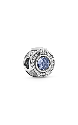 Pandora Sparkling Blue Crown O Charm, Clear CZ & Blue Crystal 799058C01 product image