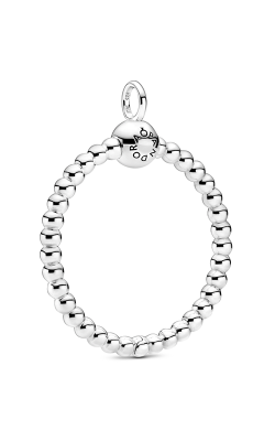 Pandora Moments Medium Beaded O Pendant 399106C00 product image