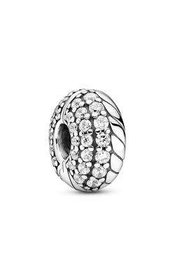 Pandora Pavé Snake Chain Pattern Clip Charm 799089C01 product image