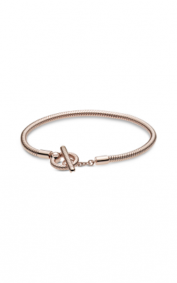 Pandora Rose™ Moments T-Bar Snake Chain Bracelet 589087C00-18 product image