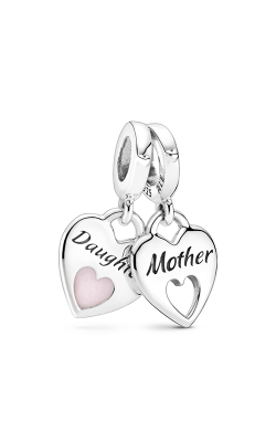 PandoraDouble Heart Split Dangle Charm 799187C01 product image