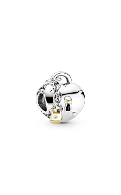 Pandora Heart & Lock, With 14K Gold & Clear CZ Charm 799160C01 product image
