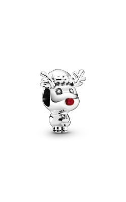 Pandora Rudolph the Red Nose Reindeer, Red Enamel Charm 799208C01 product image