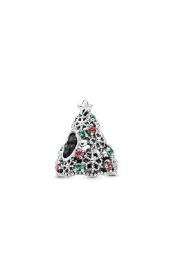 Pandora Glitter Christmas Tree, Red CZ & Green Crystal Charm 799226C01 product image
