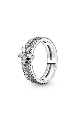 Pandora Sparkling Snowflake, Clear CZ Ring 199236C01-50 product image