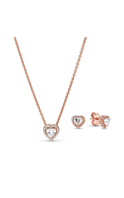 Pandora Rose Sparkling Elevated Heart Jewelry Gift Set B801482-45 product image