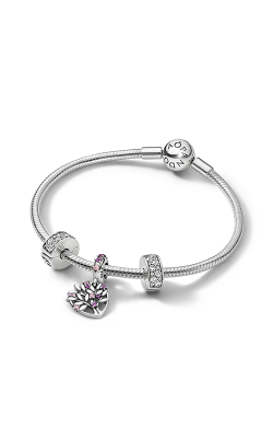 Pandora Sparkling Pink Heart Family Tree Gift Set B801426 product image